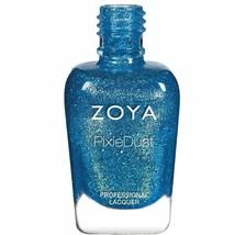 Zoya Seashells Collection Pixiedust Nail Lacquer Bay Zp845, 0.5 Fl oz.