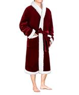 Premium Men's Sherpa Fleece Christmas Soft Warm Plush Bathrobe - Choose ... - $31.20+