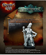 Resin Model Kit Avatars of War: Great Broadsword of Arguntia - AOW69 - C... - $12.99