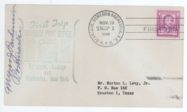First Trip Highway Post Office SIGNED Syracuse Oswego Rochester HPO 1 Co... - $3.99
