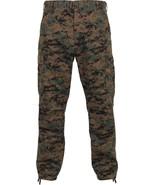 Woodland Digital Camouflage Military BDU Cargo Bottom Fatigue Trouser Ca... - $32.99+