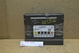 17-18 Chevrolet Sonic Body Control Module BCM 13506935 Unit 503-9e7 - $64.99