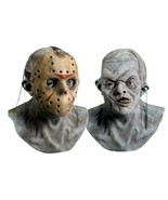 Friday The 13th Jason Voorhees Deluxe Overhead Halloween Hockey Mask New - $65.10