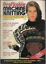 Profitable Machine Knitting Sep Oct 1988 Magazine UK Patterns Articles t... - $5.99