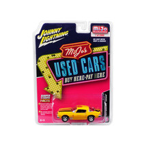 1977 Chevrolet Camaro Weathered Yellow with Black Stripes Used Cars Series Li... - $19.72