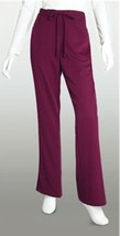 Grey's Anatomy 4232 Wine 5-Pocket Tie Front Pant - $15.60