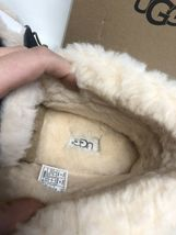 UGG Australia ALENA Nightfall SHEEPSKIN CUFF MOCCASIN SLIPPERS 1004806 womens image 11