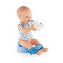 COROLLE MON CLASSIQUE Paul drink & Wet Bath Boy Baby Doll