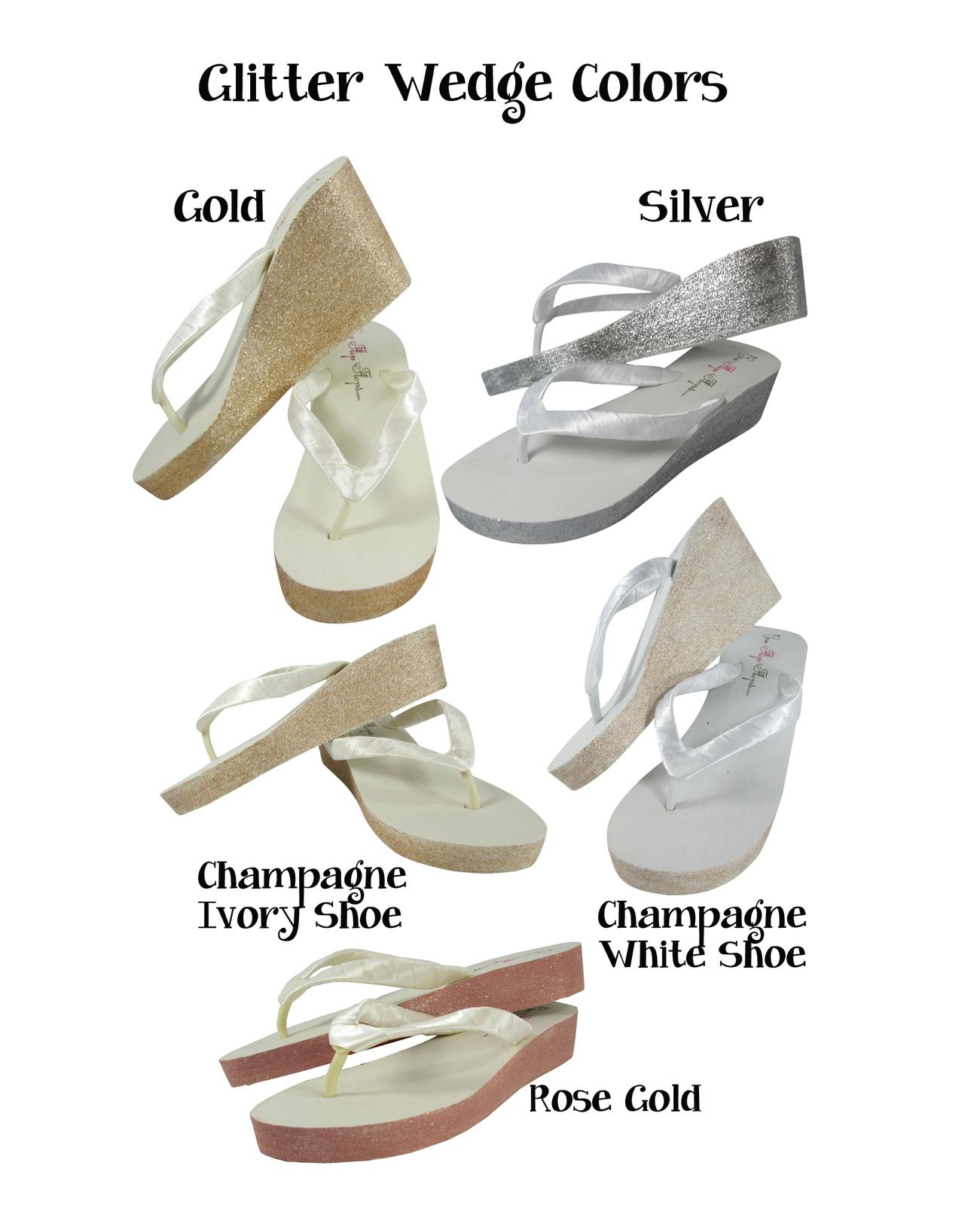 d2e19a7cf Large Jewel Bridal Flip Flops