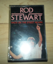 Rod Stewart Back on The Street Again Vol II Cassette SEALED - $6.29