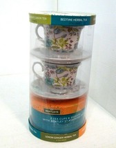 New Sealed Bentley's Tea With Two Cups and Saucers Gift Set 20 Assorted ... - £10.64 GBP