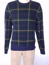 POLO RALPH LAUREN MEN'S TARTAN PLAID SWEATER 100% WOOL SUEDE SZ XXL NWT ... - $161.97