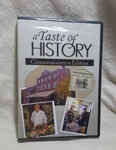 A Taste of History Commemorative Edition DVD City Tavern Philadelphia New - $25.24