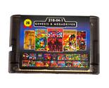 Super UFO 218 in 1 Clear Black Game Cartridge for Sega Genesis - £14.62 GBP
