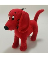 Clifford The Big Red Dog Plush Stuffed Animal Small toy Velvet Fabric  - $9.99