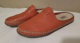 UGG TAMARA FIRE OPAL SHEARLING LINE Size 7 SLIP ON SLIPPERS 1014872 Leather - £29.30 GBP