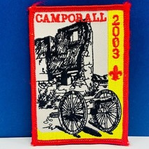 Boy Scout patch badge emblem vintage vtg memorabilia Camporall cannon 20... - $13.50