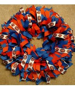 "Auburn University Tigers  16"" Ribbon Wreath Custom Made You And All Tige... - $50.00"