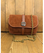 Authentic CHRISTIAN DIOR Burgundy Suede Crossbody Bag with Replacement C... - $395.00