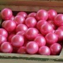 Bright Pink Shimmer 1 Gumballs, 2LBS by Oak Leaf - $16.40