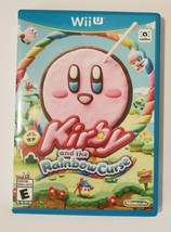 Kirby and the Rainbow Curse 2015 Nintendo Wii U Video Game CIB Complete - $31.63