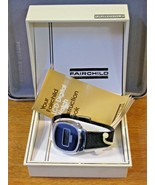 Fairchild 1970's Men's  LCD Digital Vintage Watch w/ Box & Papers Navy B... - $94.05