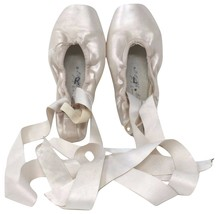 Russian Pointe Shoes Size 3.5, 3W, 2Vamp, FS shank - $35.99