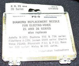 NEEDLE for PS-5 for 352-D7 EV 21D EV 21M EV 21MD EV 26D for Magnavox 560234 image 4