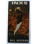 INXS Live Baby Live Backstage Pass Original Film All Access New Wave Rock 1991 - $26.15