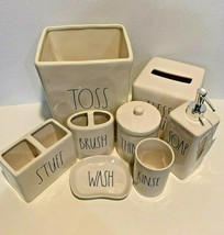 Rae Dunn Bath Accessory Collection Bed Set Bathroom Accessories Home Dec... - $159.99