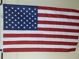 """Usa 12X18' Flag """"High Wind"""" 2-PLY Polyester New Us Made - $278.19"""