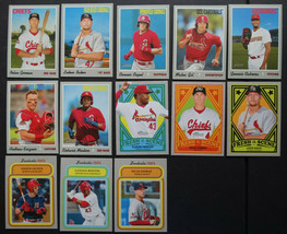 2019 Topps Heritage Minor League St. Louis Cardinals Master Team Set of ... - $19.99