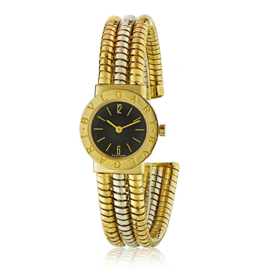 Primary image for Bvlgari Tubogas Multi Gold Serpenti Round Dial Watch