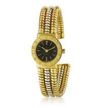 Bvlgari Tubogas Multi Gold Serpenti Round Dial Watch - $9,750.00
