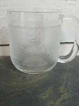 Nuutajarvi Arabia Iittala Krouvi Glass Beer Mug 50cl 1/2 Liter Finland - $9.89