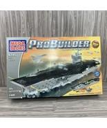 Mega Bloks ProBuilder Master Series USS Nimitz 9795 Aircraft Carrier Wit... - $200.00