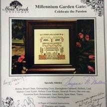 Moss Creek Millennium Garden Gate Cross Stitch Kit Signed Sampler Rae Iv... - $39.54