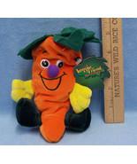Seed Bean Bag Plush Veggie Friends Seedies Beta Carrot Toy Limited Edition - $8.90