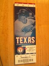 2011 Texas Rangers Full Unused Ticket Stub Vs Los Angeles Angels 5/14 - $0.98