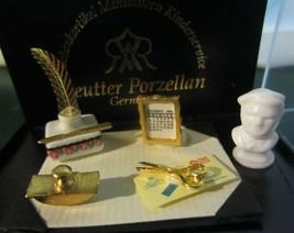 Reutter Porzellan Of Germany ~ Victorian Desk Set - $30.07