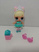 LOL Surprise Doll Suite Princess doll wearing teal dress - $12.86