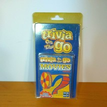 Fundex Trivia On The Go Movies Edition 2004 Travel Card Games 1000 Questions - $10.05
