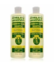 Clubman Country Club Shampoo Duo, 16 oz  each