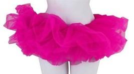 NEW LEG AVENUE WOMEN'S SEXY TUTU BALLET DANCE SKIRT A1705 ONE SIZE HOT PINK image 2