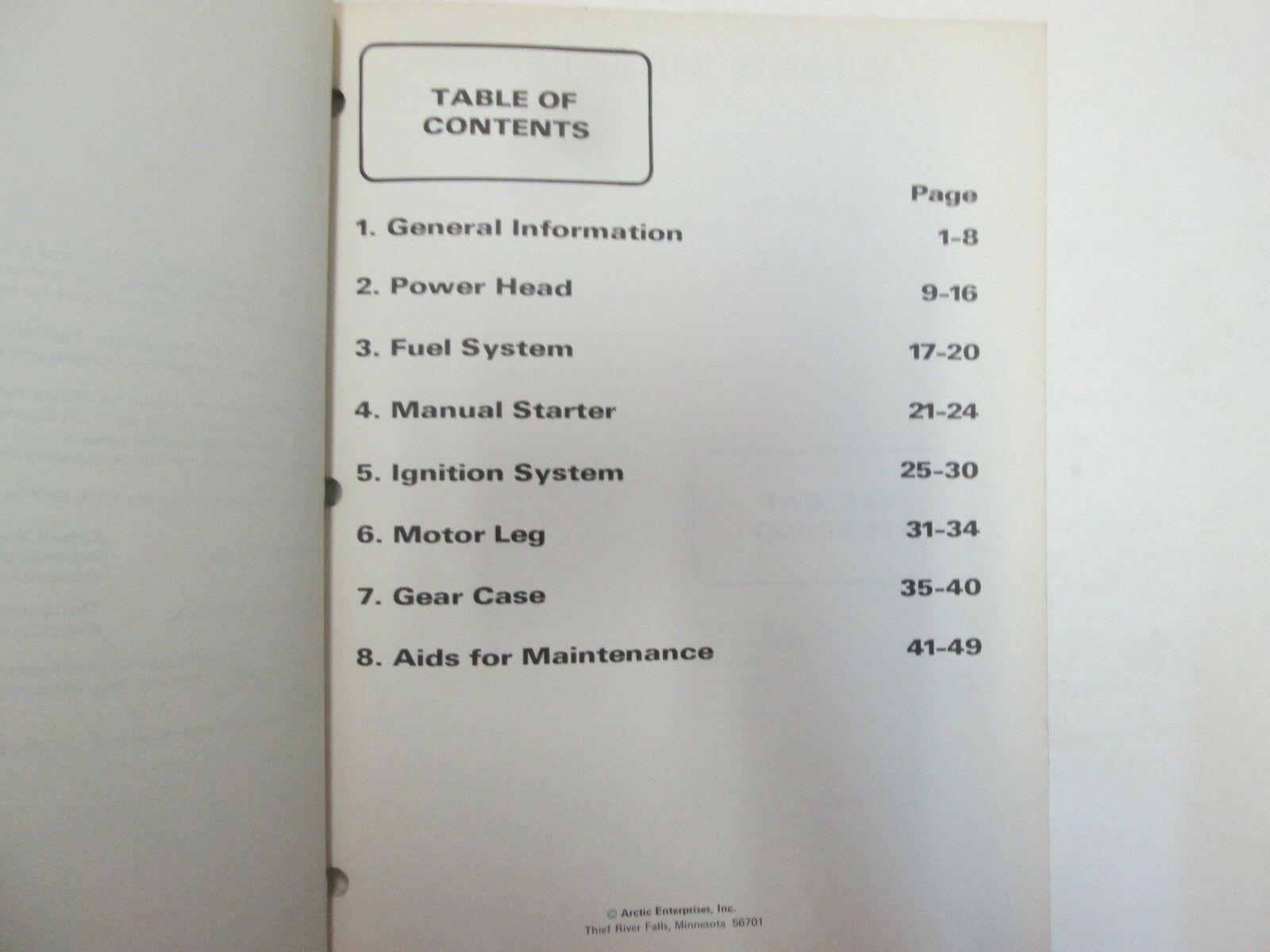 1977 Spirit Außenborder 9.9 16 hp Modelle Service Reparatur Shop Manuell Set OEM