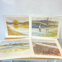 Vintage Jack O'Hara Impressions of Missouri 4 Art Prints unframed Commer... - $39.95