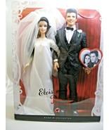 Elvis Presley Priscilla 2008 Wedding Day Barbie Bride Groom Collector Pi... - $163.34