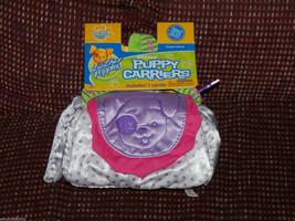 Zhu Zhu Puppies Stylin Purple & White Puppy Carrier NEW LAST ONE - $28.49