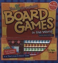 The 15 Greatest Board Games in the World The editors of Klutz - $19.99