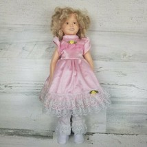 1996 Danbury Mint Shirley Temple Little Colonel Doll Missing Bonnet 14 in Tall - $9.69